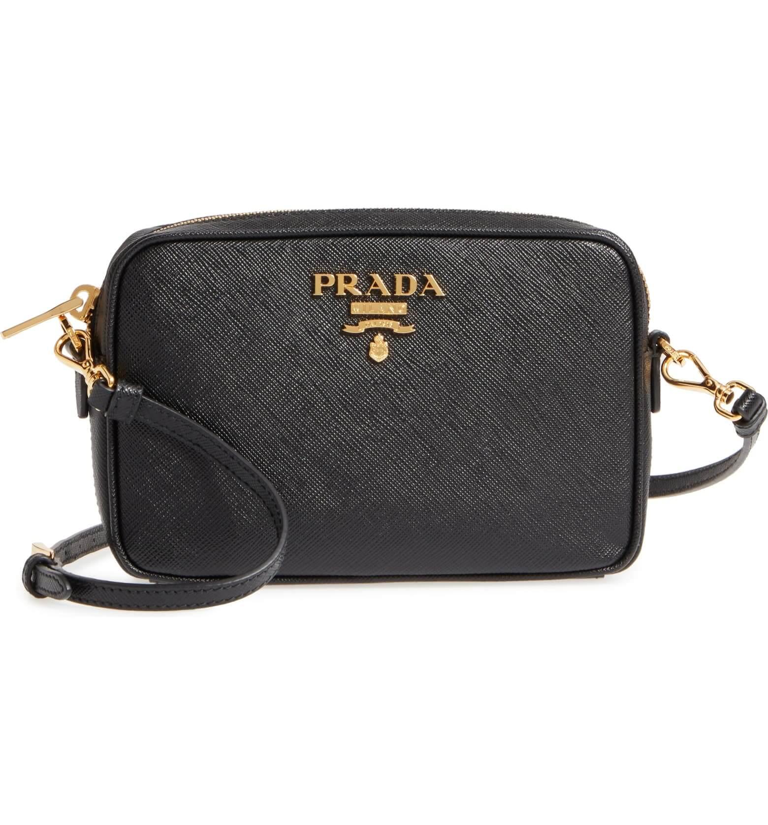 PRADA - Saffiano Leather Camera Bag