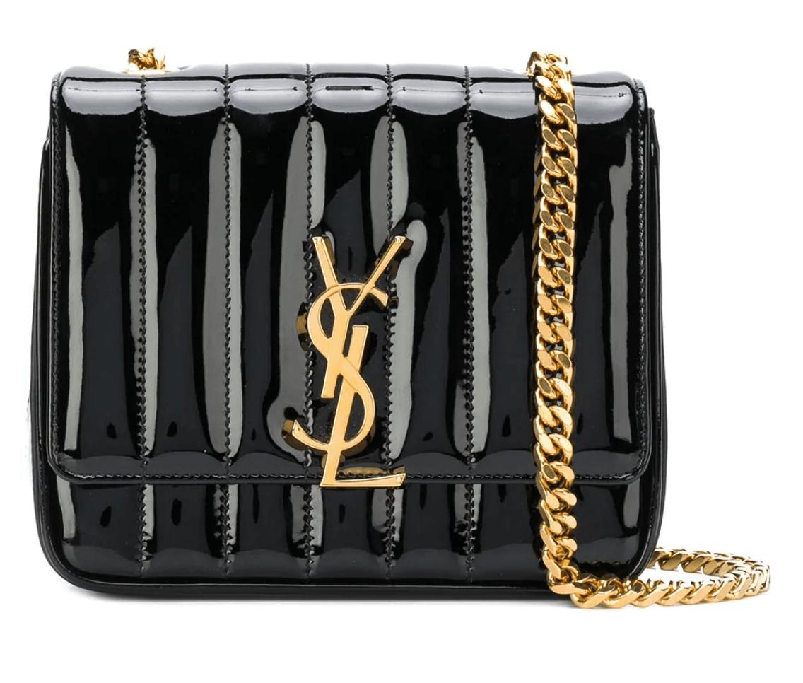 SAINT LAURENT - Small Vicky Chain Bag
