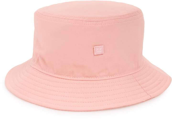ACNE STUDIOS - Buk Face appliquéd cotton-twill bucket hat