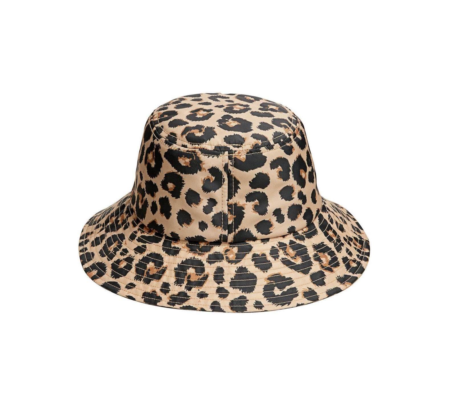 Loeffler Randall - Leopard-print shell bucket hat