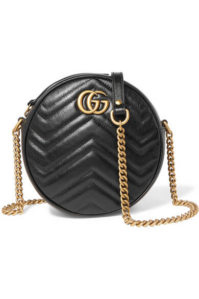 GUCCI - GG Marmont Circle quilted leather shoulder bag