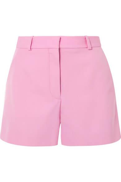 NET-A-PORTER -  STELLA MCCARTNEY Wool-twill shorts