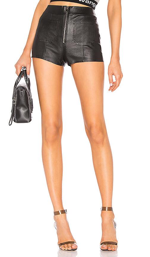 Revolve - Leather Hot Pants