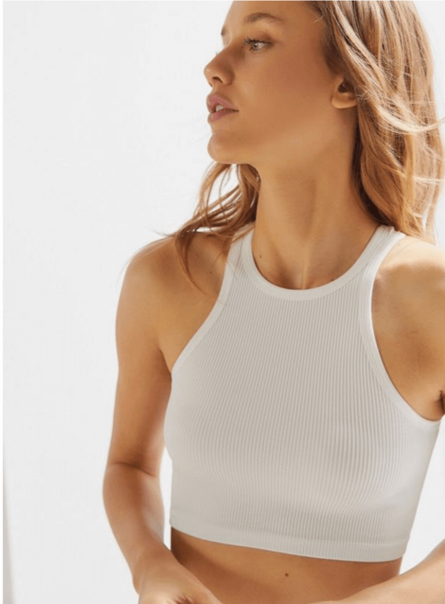 Urban Outfitters - Out From Under Cutting Edge Seamless High-Neck Bra Top
