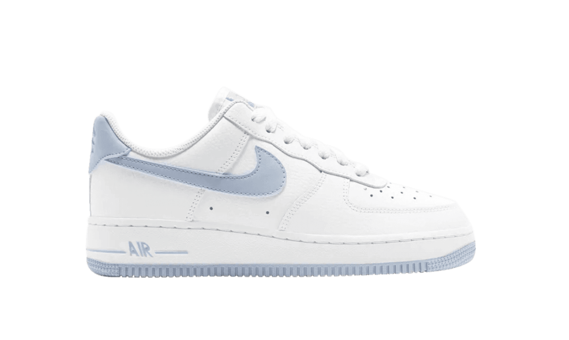 GOAT - NIKE - AIR FORCE 1 LOW '07 PATENT 'LIGHT ARMORY BLUE