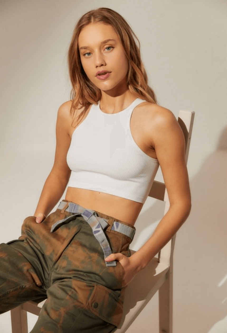 Urban Outfitters - Cropped Tank Top