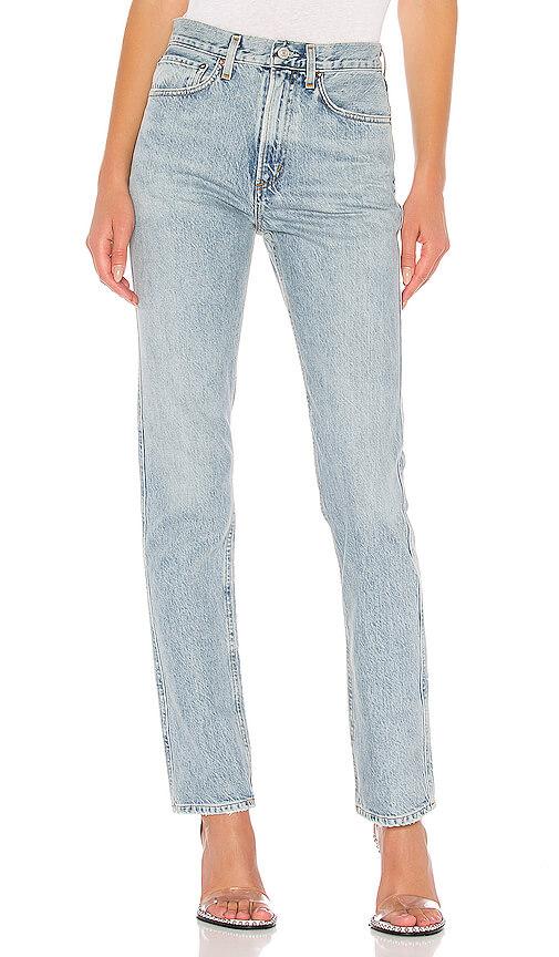 AGOLDE Tamryn Mid Rise Straight Denim Jeans