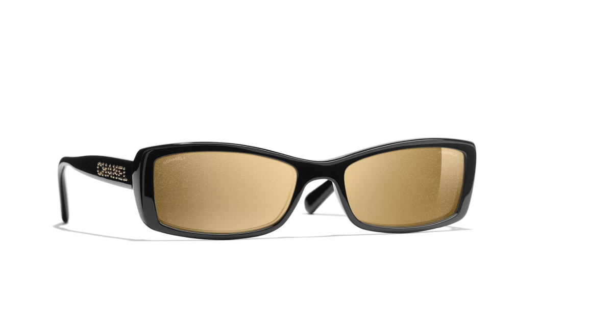 Chanel Rectangle Sunglasses