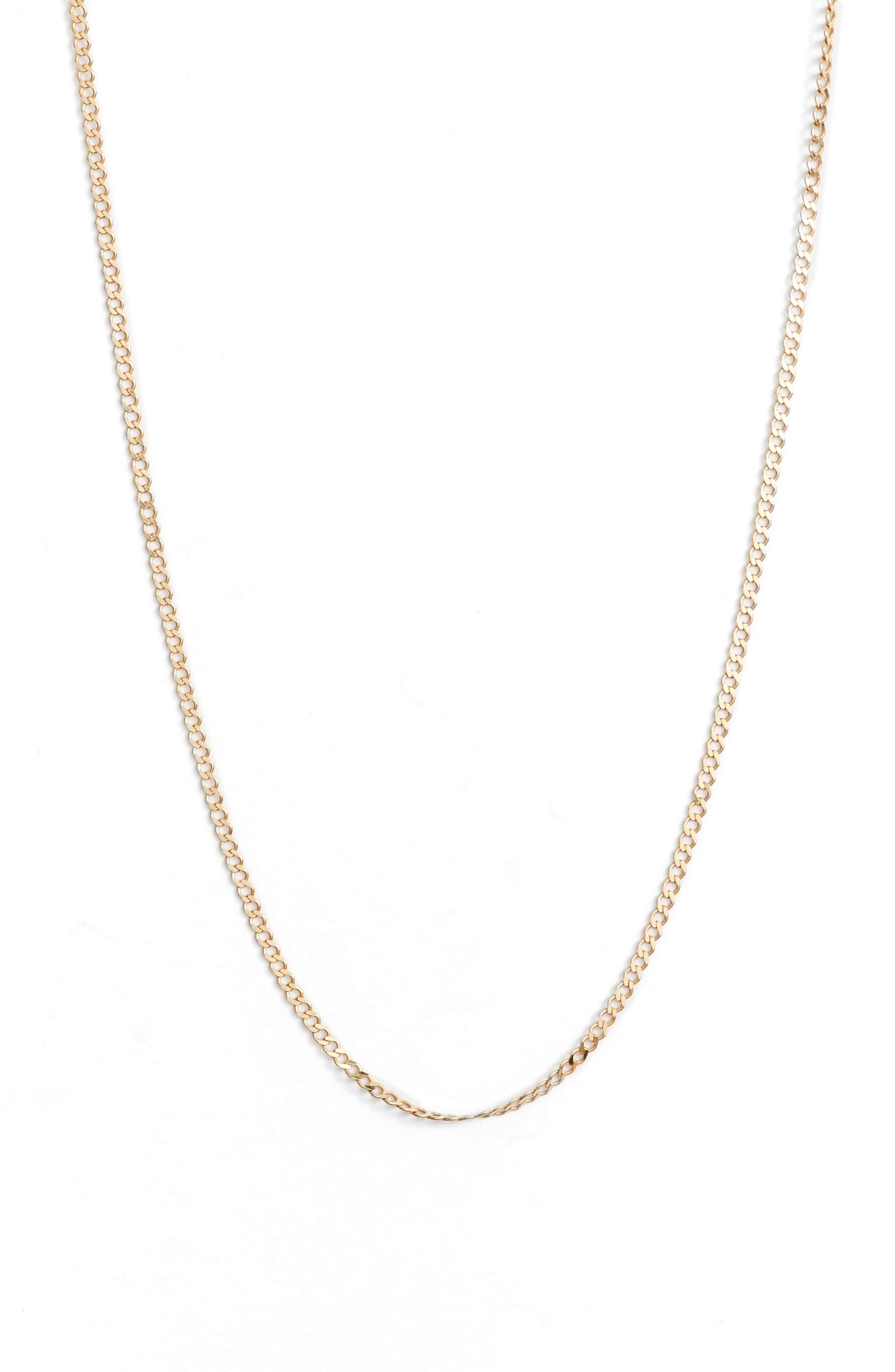 Argento Vivo chainlink necklace