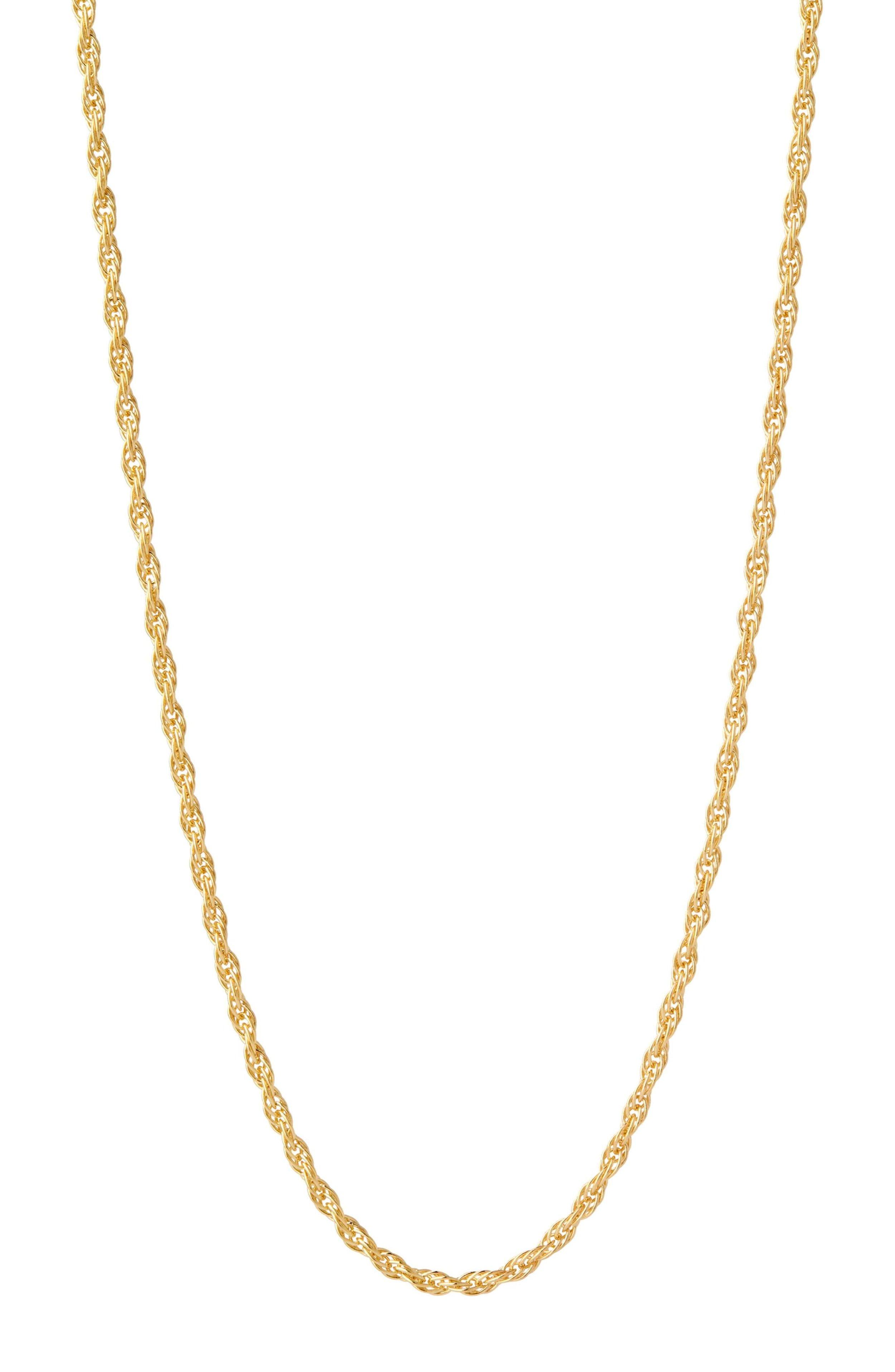 Maria Black gold Necklace