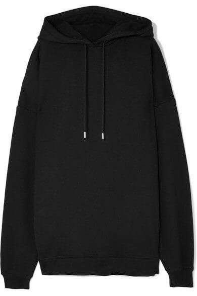 Ninety Percent jumbo oversized organic cotton jersey hoodie