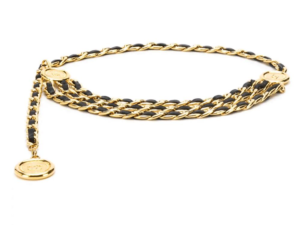 Chanel 1990's Chain Belt