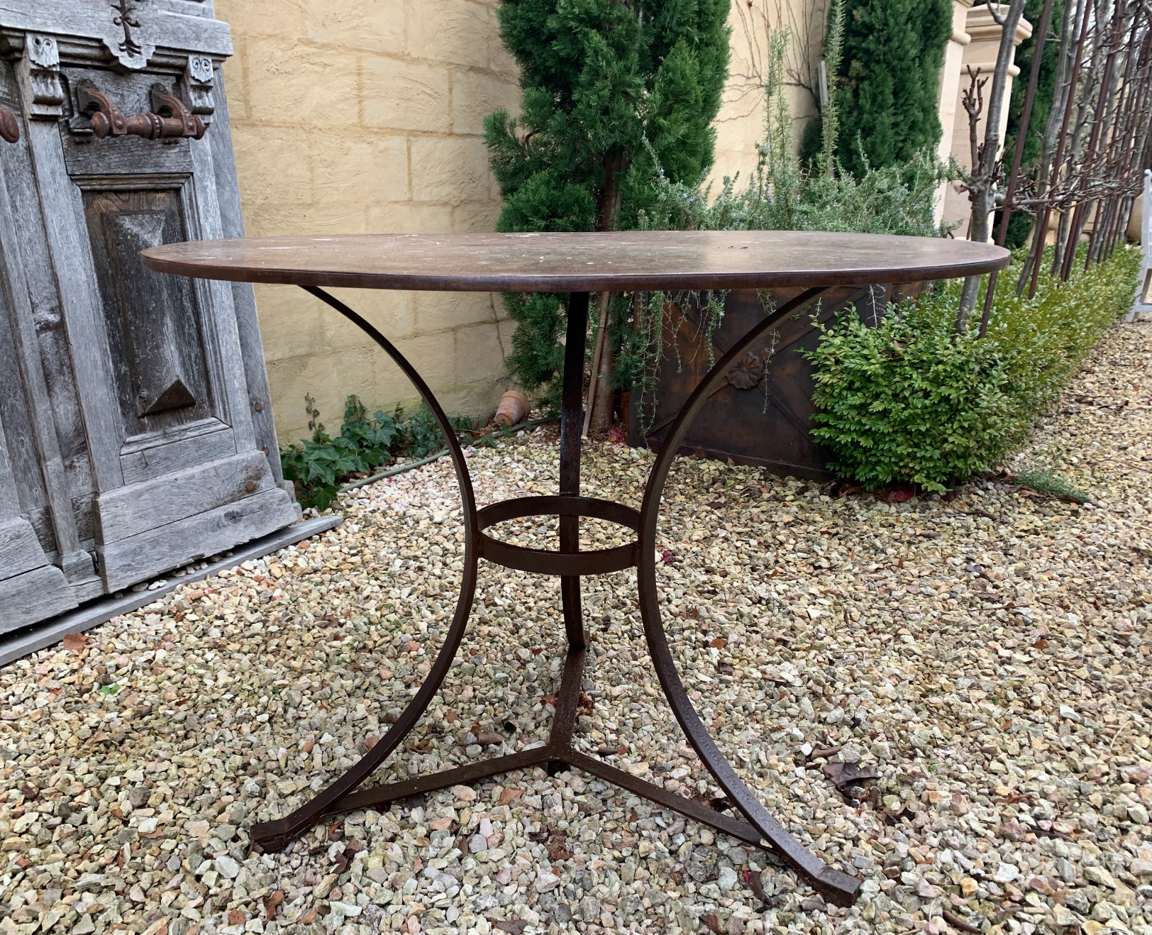 TC1089 Normandy iron garden table  $595 Out of stock