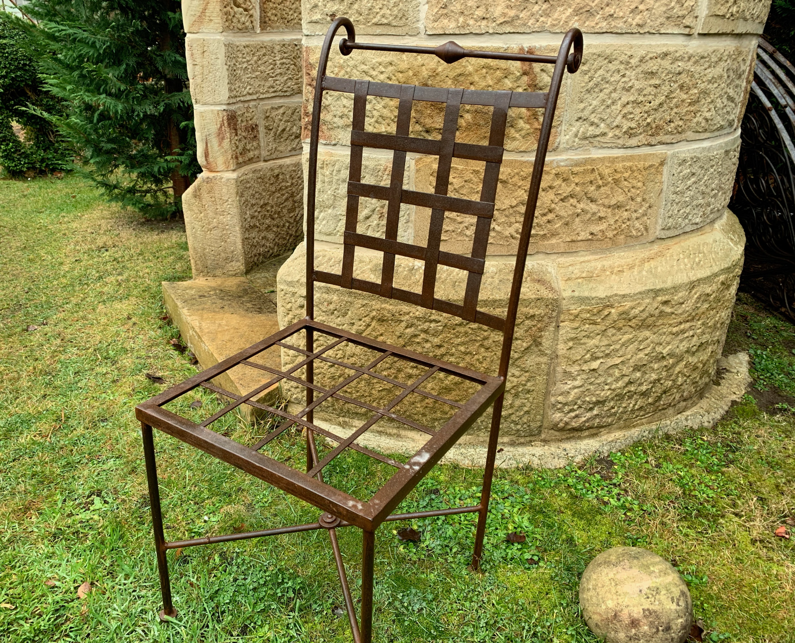 TC1508 Classic Tuscan iron garden chair  $325 Out of stock