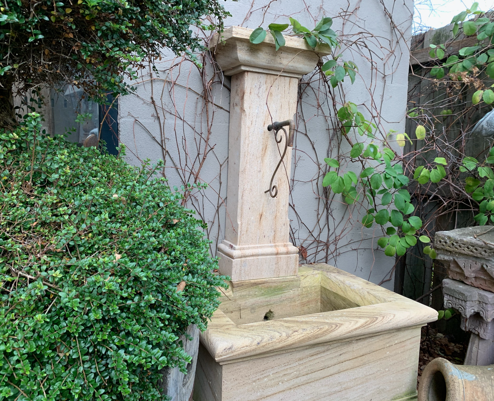 FWF1930 Bangor petite stone wall fountain  $1450 out of stock