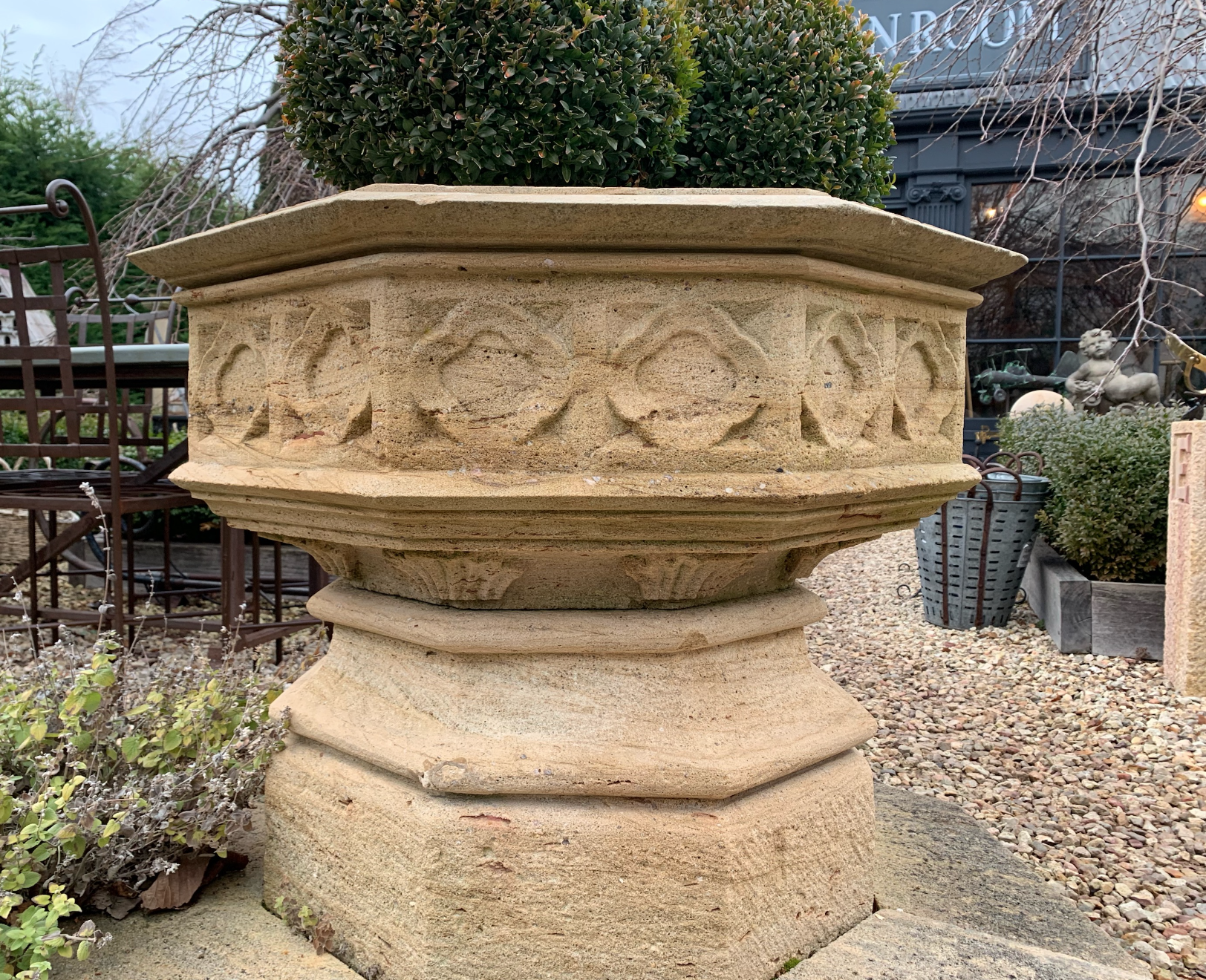 UP792a Large Gothic stone font  $2450 out of stock