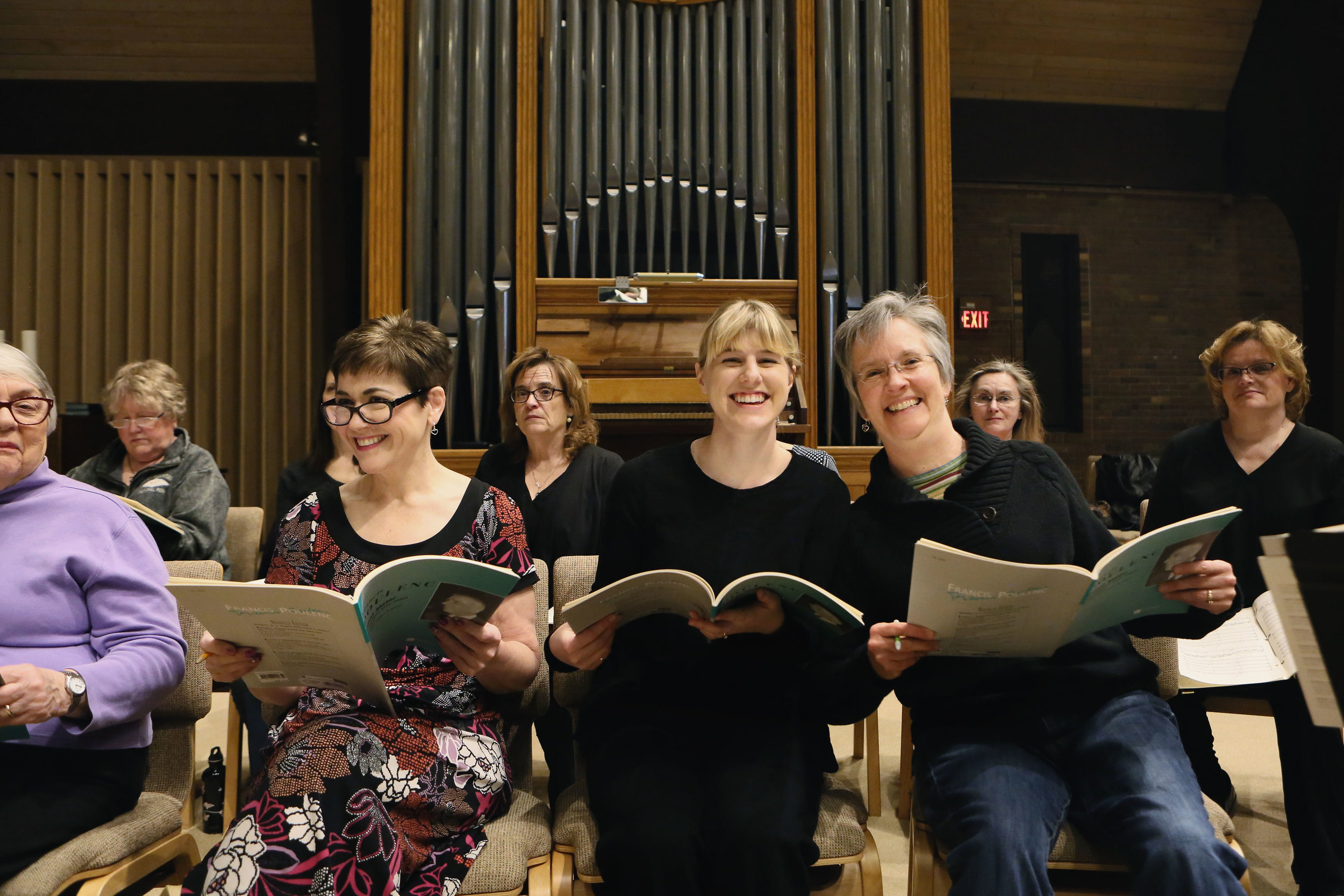 SUPPORT OUR MUSIC - You can help us bring joy to people's lives through choral music. Please support our 50th season with a donation today! View our 2019-2020 Season Supporters.