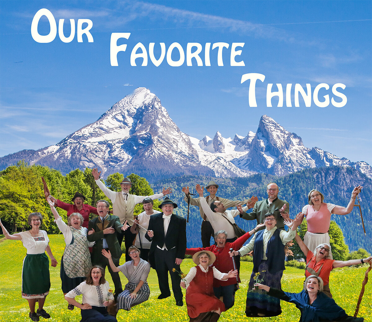 OUR FAVORITE THINGS - Saturday, November 16 at 7:30 pmSt. Mark's United Methodist ChurchJoin us for our first concert of the season! Featuring favorite repertoire from our first half-century, plus some new beloved works, we look forward to sharing our music with you.