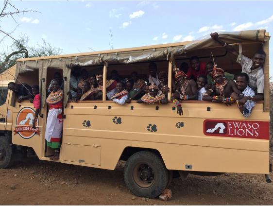 Ewaso Lions in Kenya