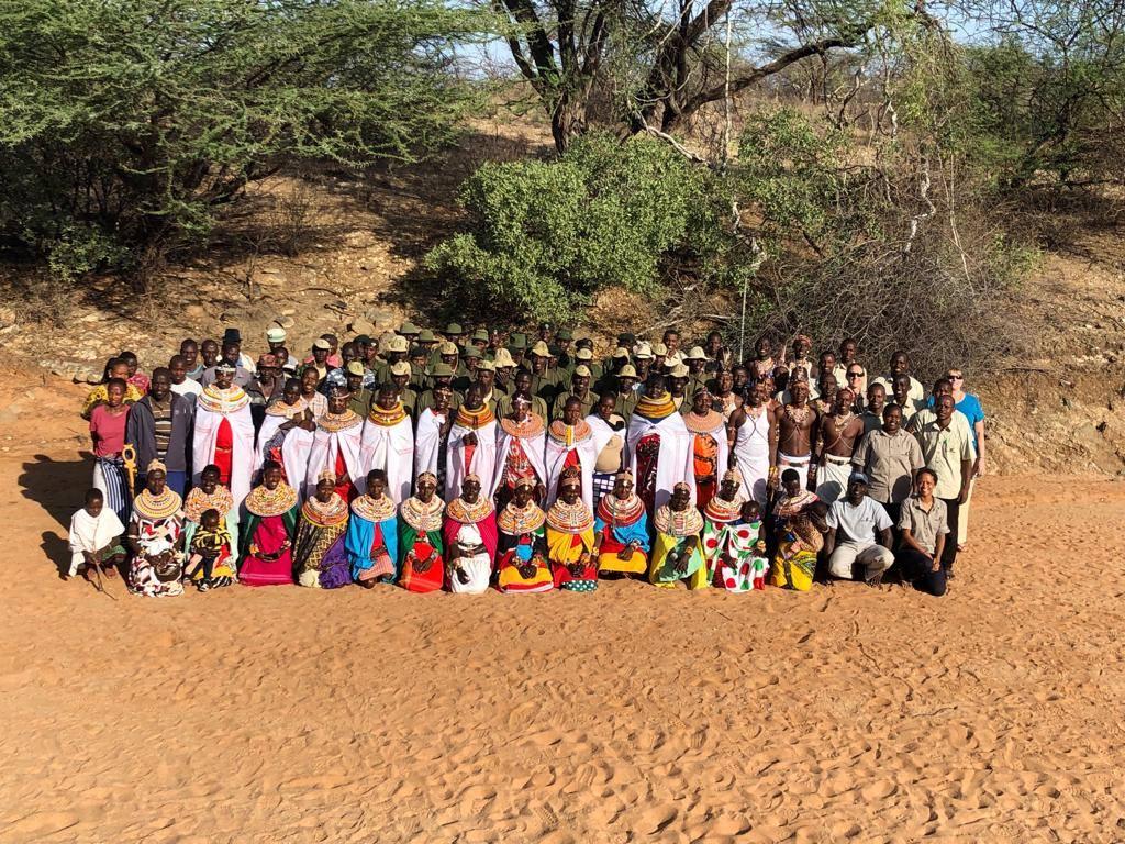 The entire Grevy's Zebra Trust Team - photo courtesy of Grevy's Zebra Trust