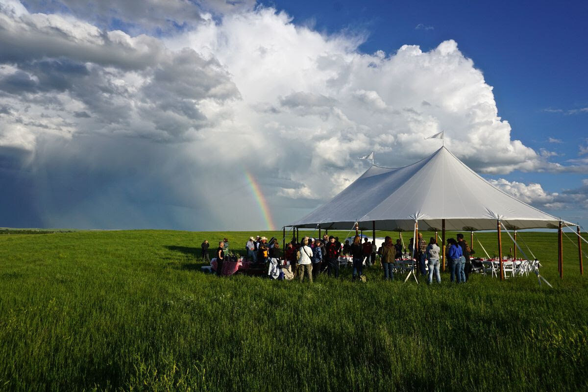 Dinner in South Dakota with the WWF Northern Great Plains Advisory Committee. Image courtesy of WWF