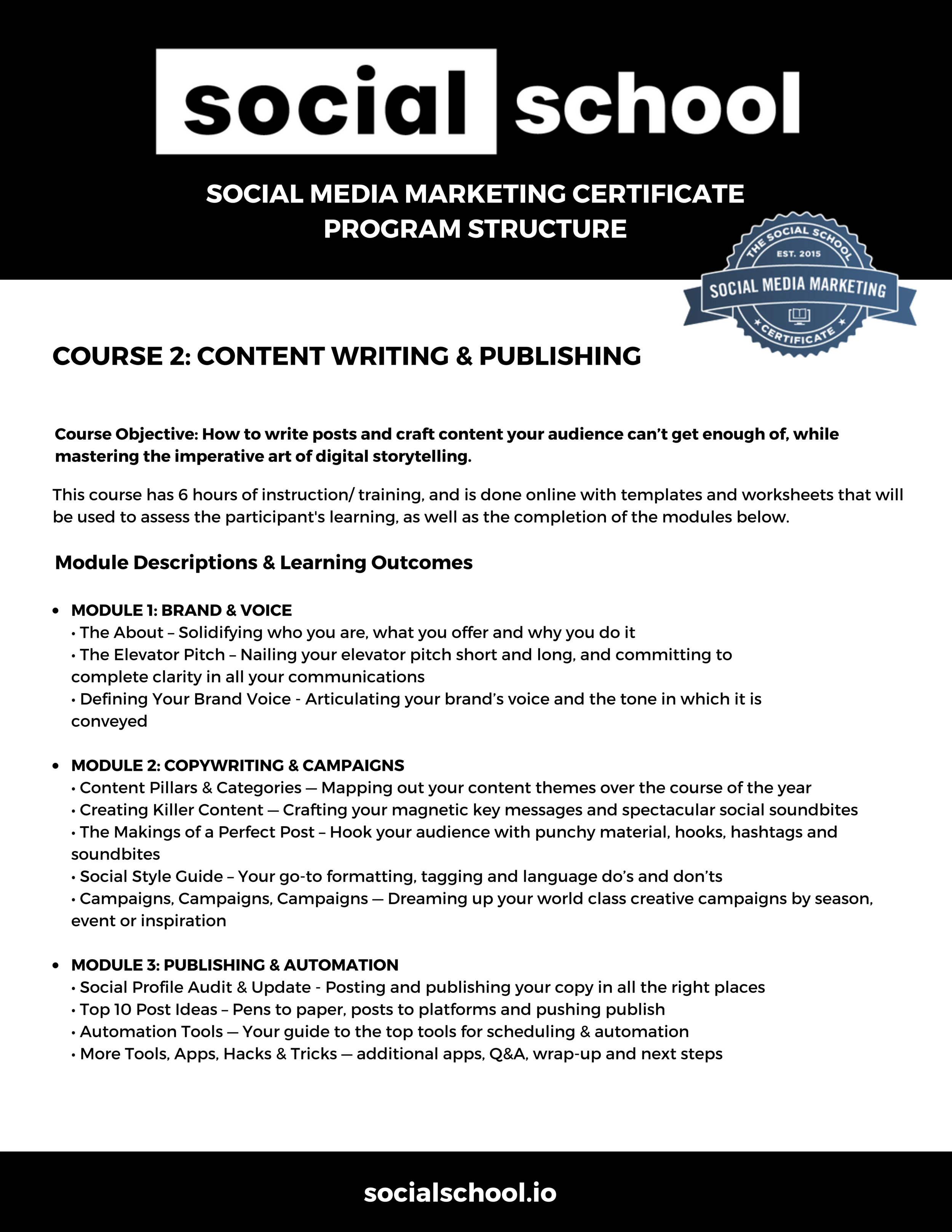 Click image to download course outline