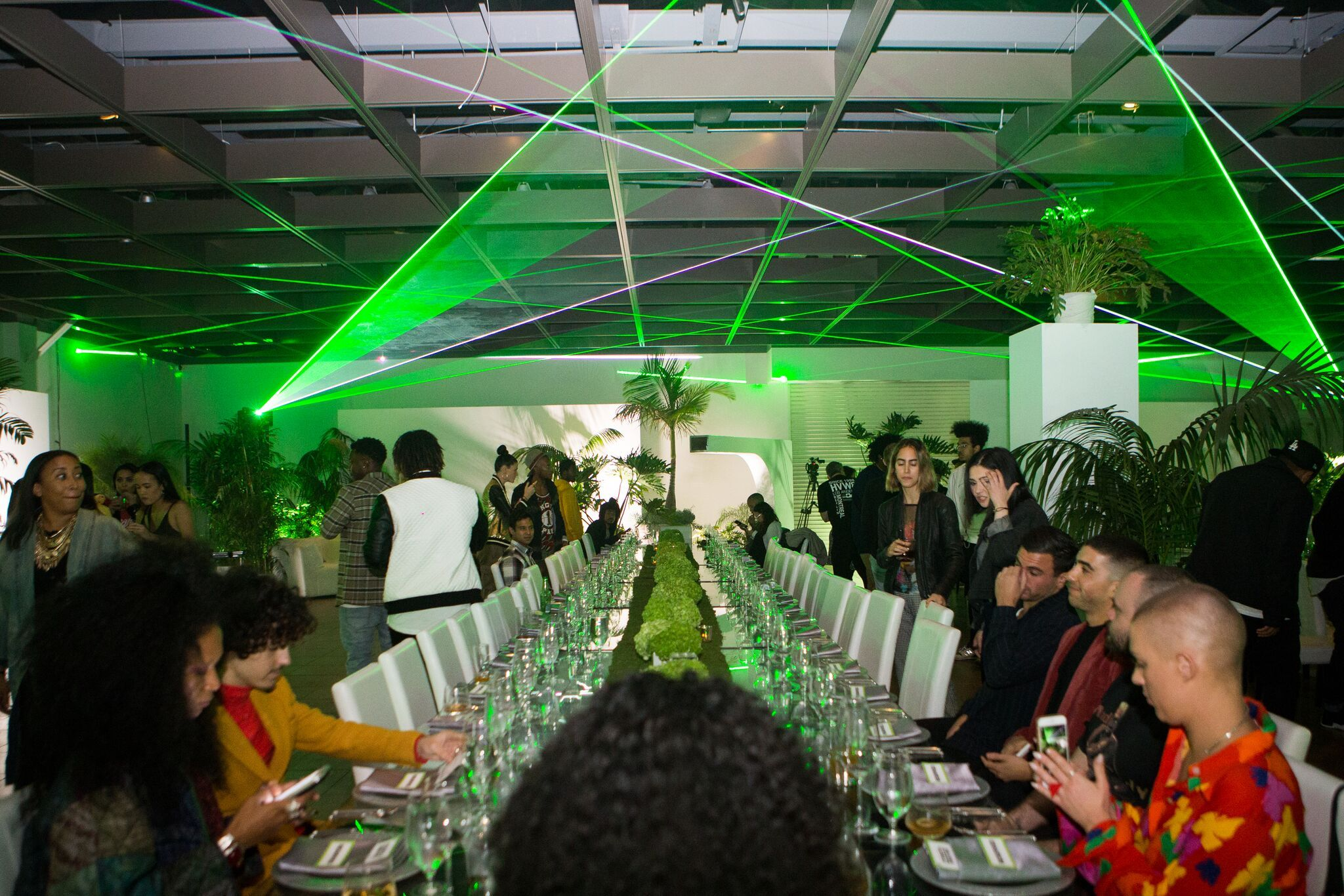 - ➝We were tasked to design and produce the Complex Con VIP Kick Off Dinner Hosted By Asap Ferg Sponsored by Mountain Dew.