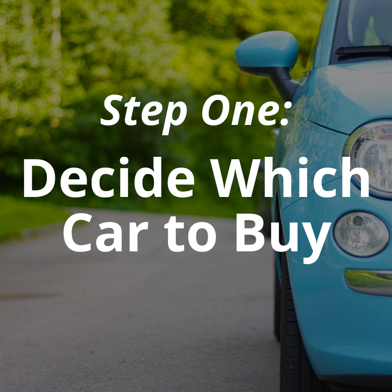 - Step one is where most people's car search begins…. and for too many, where it ends. Lucky for you, we've got some stellar resources to help you through this crucial first step even though we don't sell cars.Then, when you're ready, Outside Financial can guide you through the next 6 steps to save serious money as you negotiate and arrange your new car loan.Use our resources to decide which car is right for you.