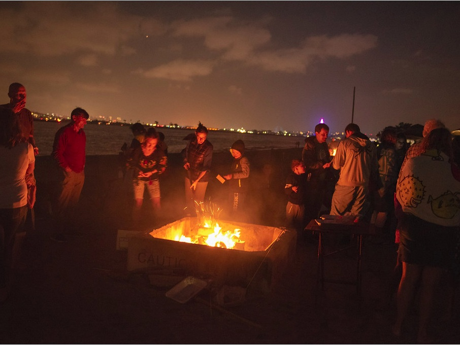 BEACH BONFIRE - Enjoy the beach with us at night after spending a long day learning from the best hackers in the industry