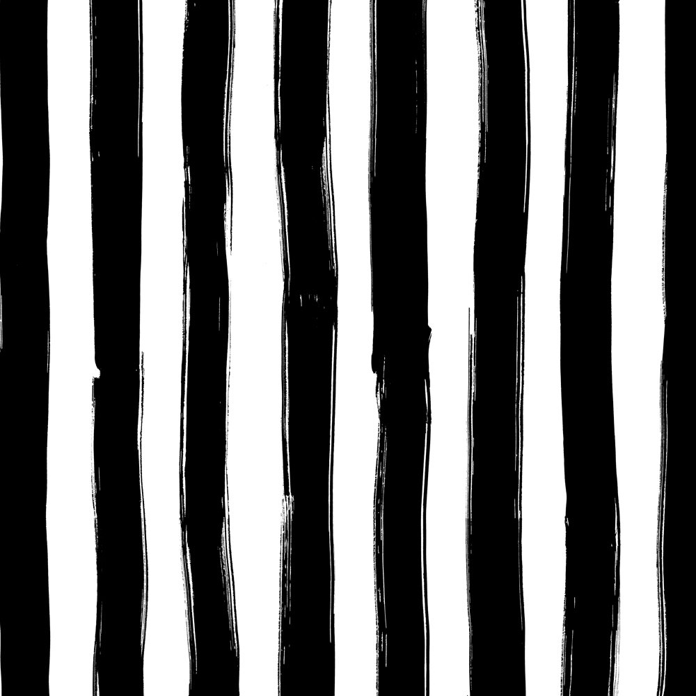 WIDE STRIPES BLACK -