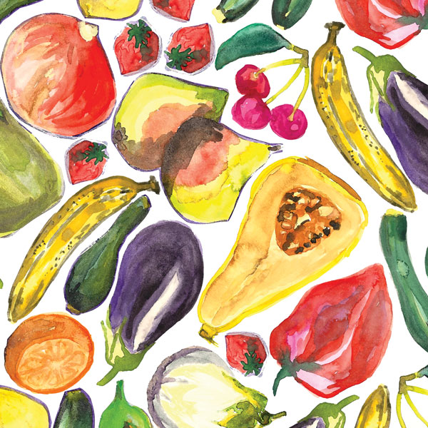 FRUIT AND VEG -
