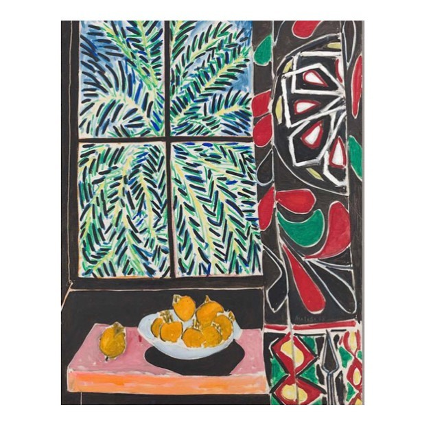 "Colour inspiration from Henri Matisse, ""Interior with Egyptian curtain"", 1948. 🌟 So much love for his bold colours and brushstrokes. #matisse #art #painting #interiors #interiordesign #deco #decor #stilllife #curtain #homedecor #homedecoration #editfabrics #colour"