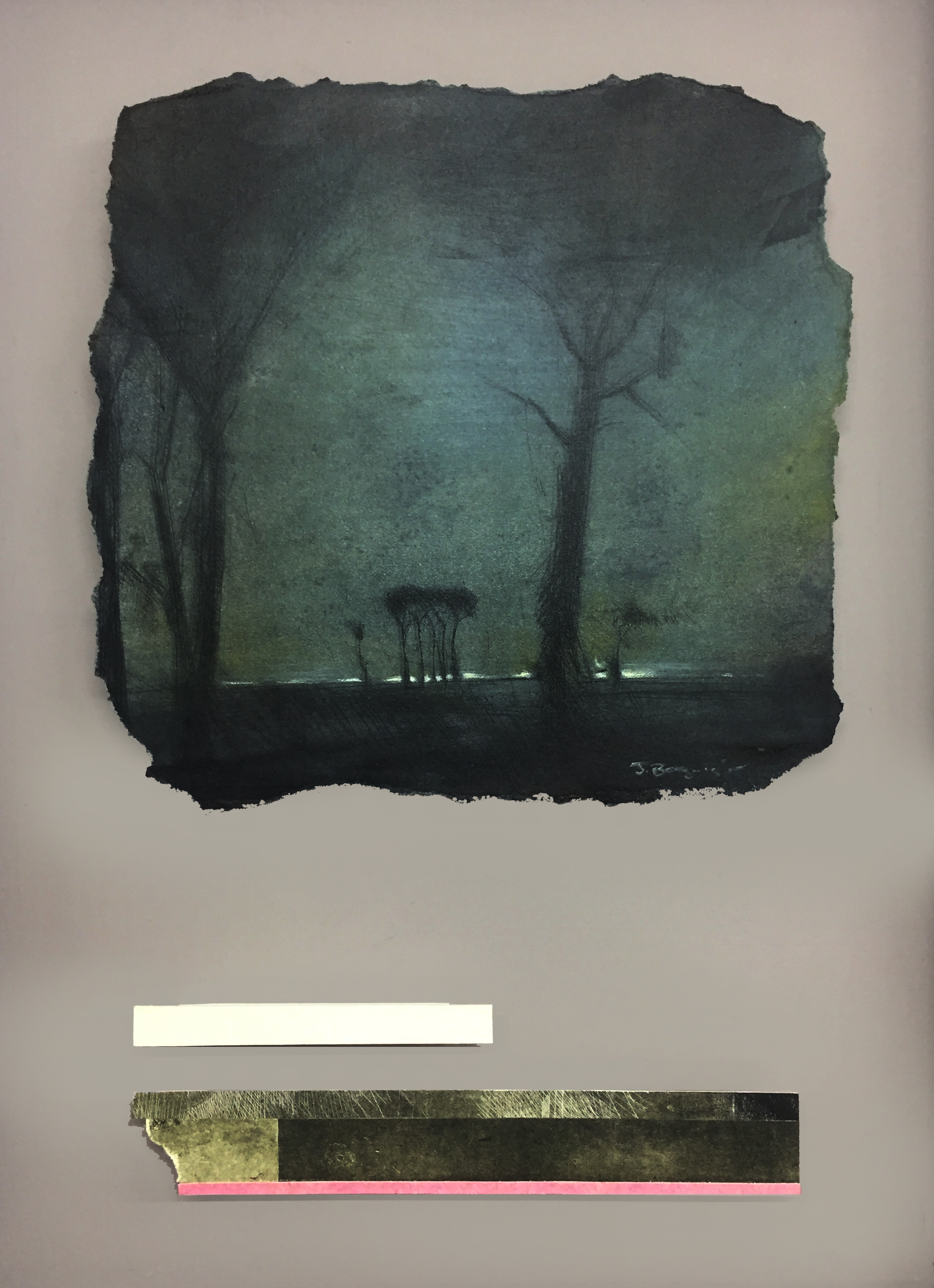 Nocturnal Landscape - 2019Monotype and Mixed media570 x 420 mm3800 ZAR