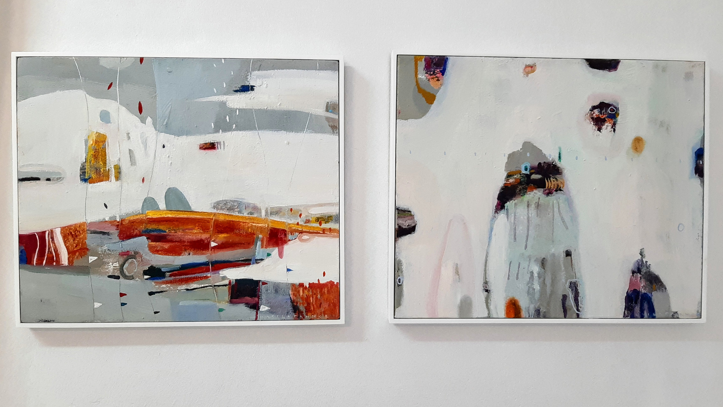Flame River & Jewel Cavern - Oil and Oil Pastel on Canvas430 x 540 mm440 x 530 mmFramed5800 ZAR Each