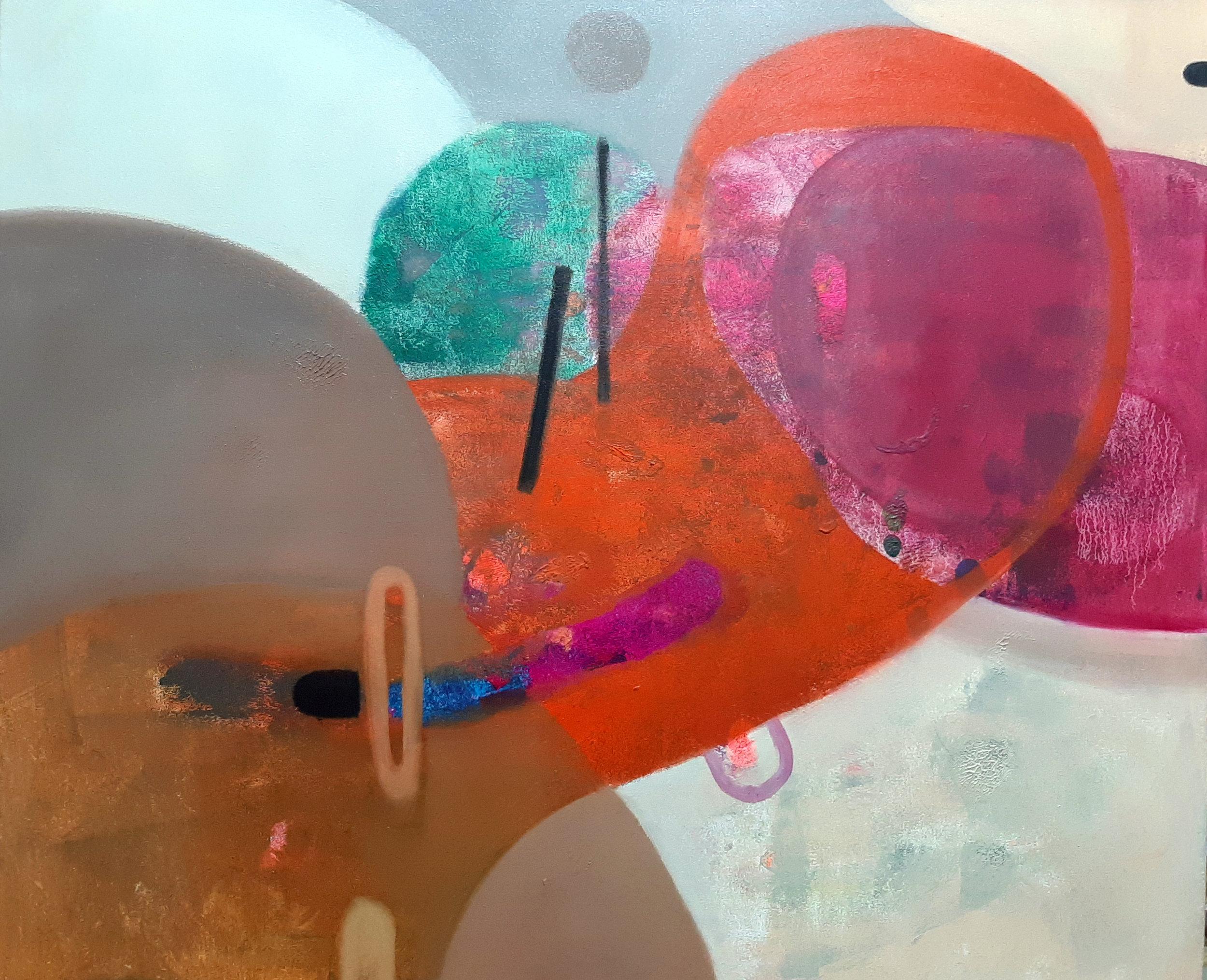 Tangerine - Oil and Oil Pastel on Canvas1000 x 1200 mmUnframed22 500 ZAR