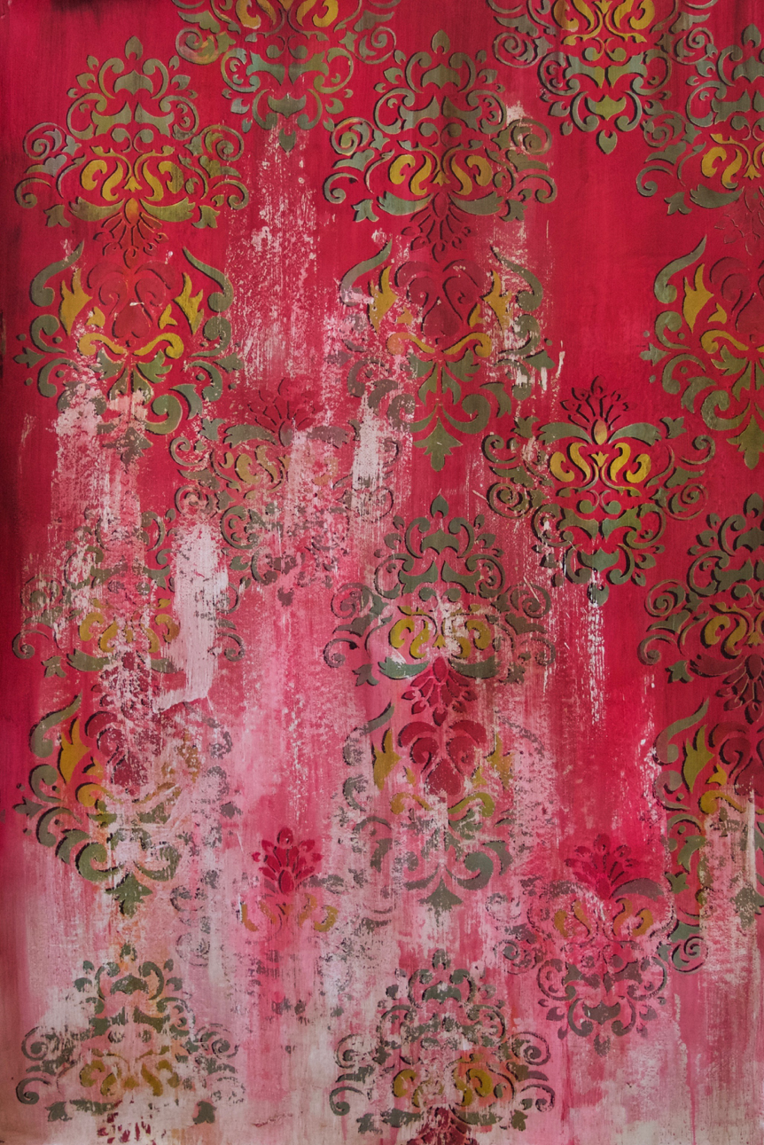 Cha Cha Cha d'amour - Oil and Acrylic and Beeswax on Paper±1500 x 1800 mm15 000 ZAR
