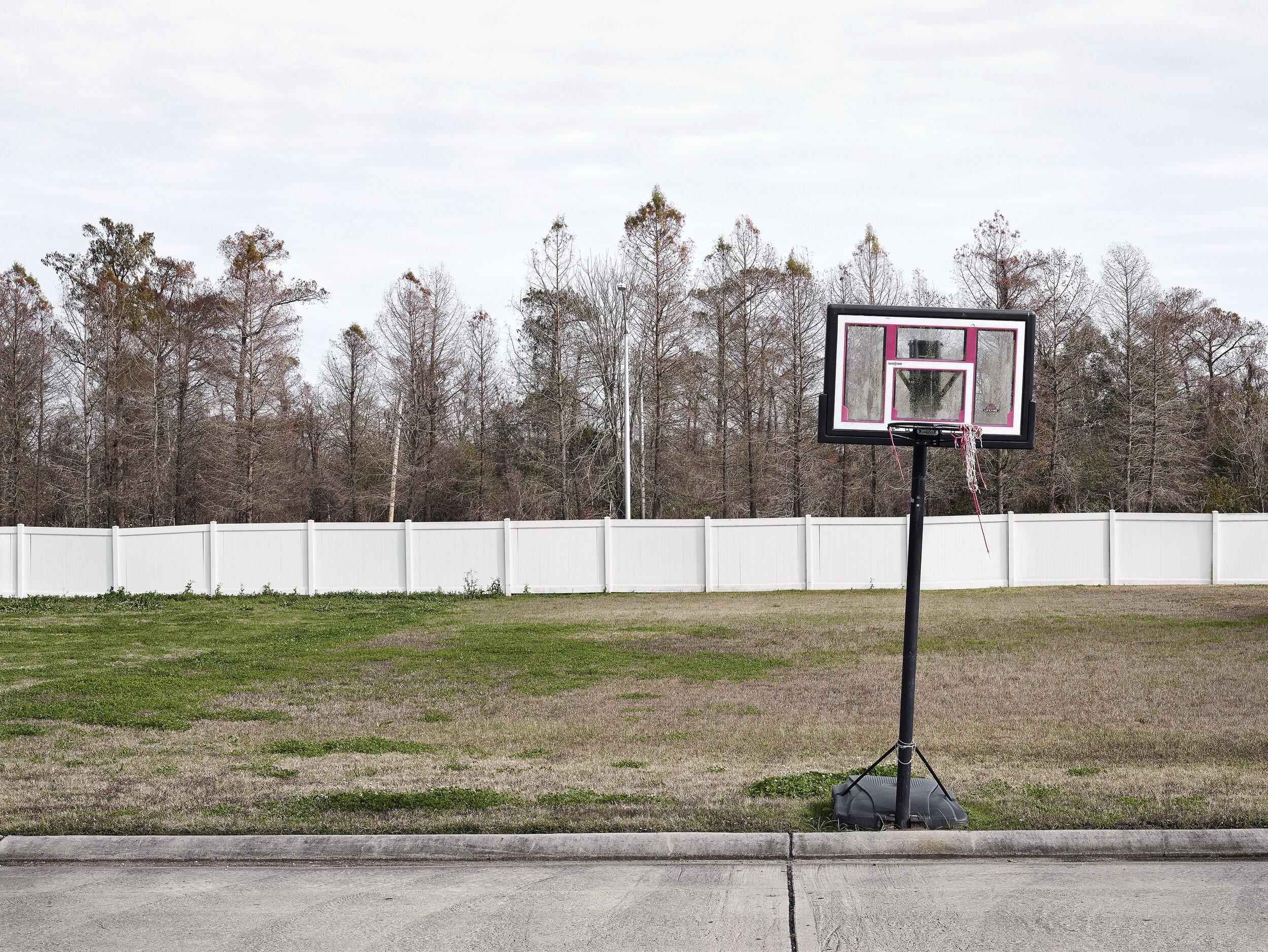 Basketball Net and Wall