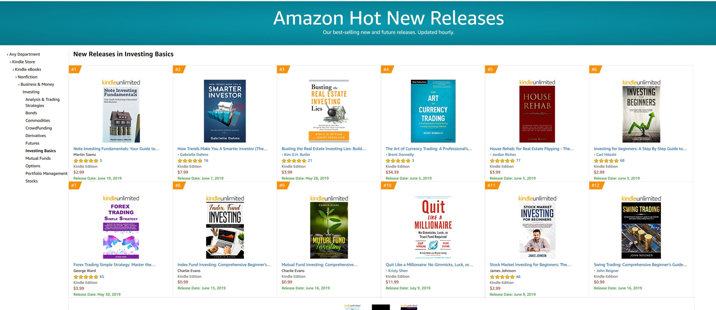 Amazon Best Seller Status #1.JPG