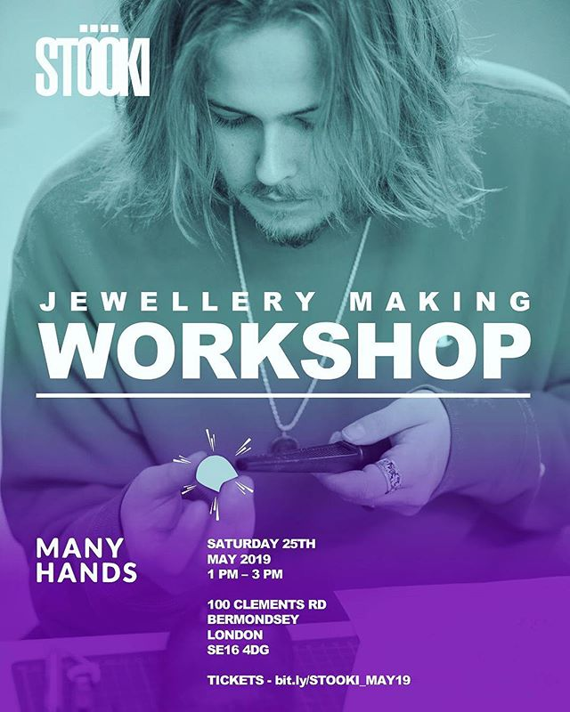 🚨 WÖRKSHOP ANNÖUNCEMENT 🚨 ● MAY 25th ✨⚒✨ ● Don't miss out on our £15 Early Bird tickets this week 🎟️ ● Come and create your own custom ring or pendant 💎 ● Link in bio 🔗🔥