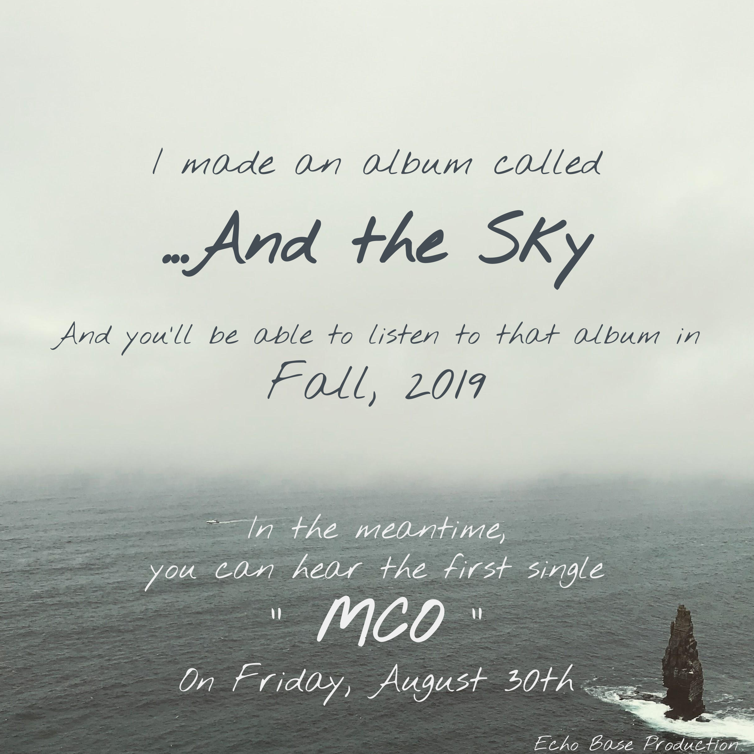 """""""…And the Sky"""" Release Announcement via Best Mann"""
