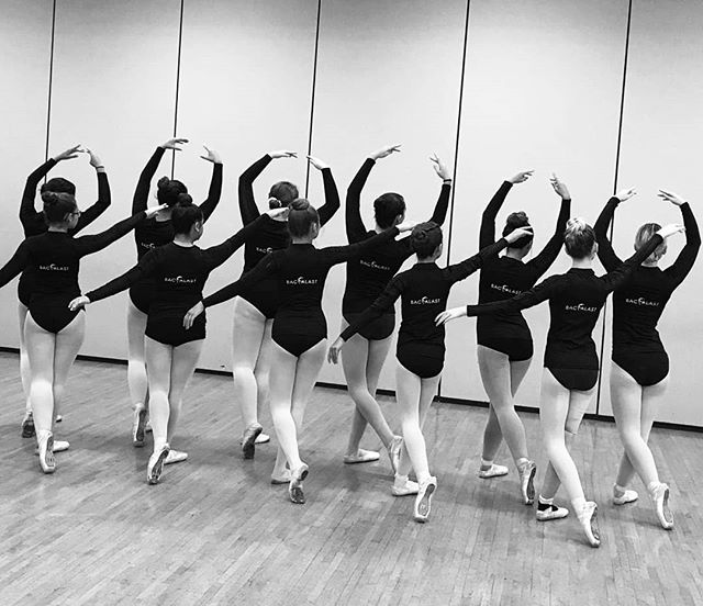 Students proudly wearing their backalast. 🖤😊 Taught by Sandra Maniaci,  Director of The Arts of the Dance Centre in Vineland, USA.