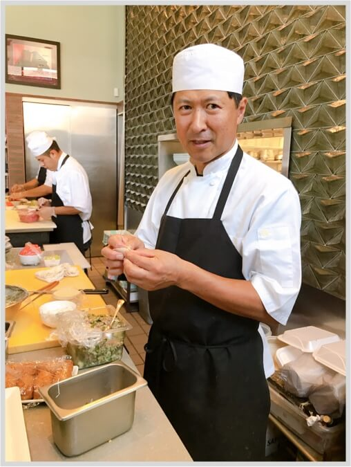 Chef Taka - Owner and Executive Chef