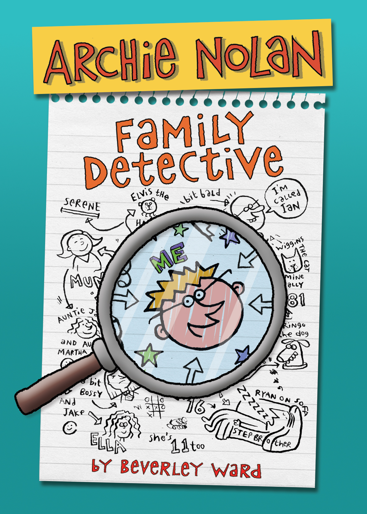 Archie Nolan: Family Detective - A funny, illustrated story for 8-12yr olds.Science geek Archie Nolan tries to keep a low profile, but when his class are told to research their family tree, he is terrified twin sister and school swot Jemima is going to reveal that they are donor conceived. Archie's in turmoil. He doesn't want to have to talk about all that embarrassing stuff. The only person who understands is his donor conceived friend Cameron, but he seems to have unearthed a village vampire…..and Archie's far more interested in investigating that!Open Archie's secret diary and join him and his friends on an action-packed adventure to find out what family really means.