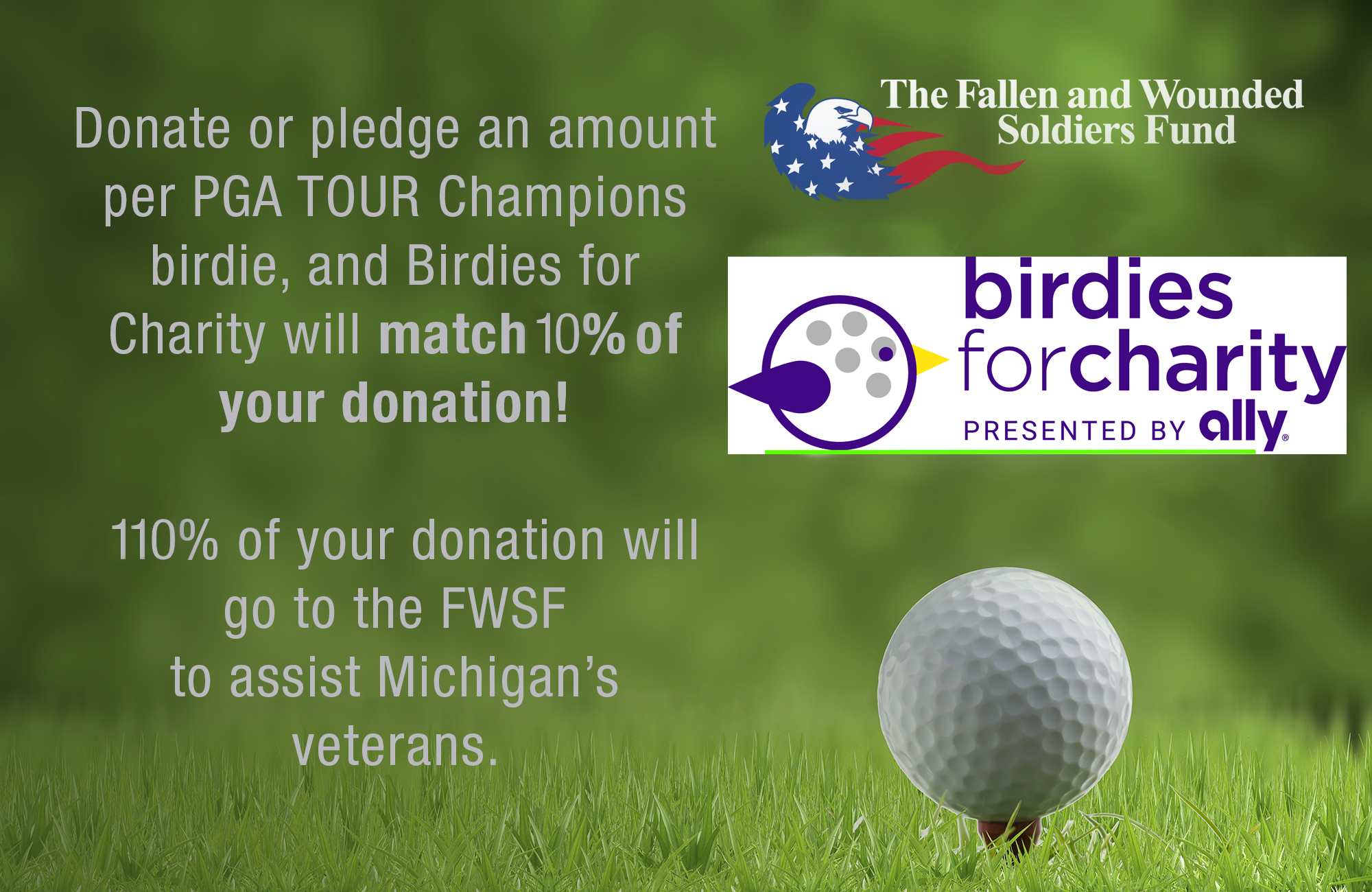 Click  here  to donate and designate the Fallen and Wounded Soldiers Fund as your charity.