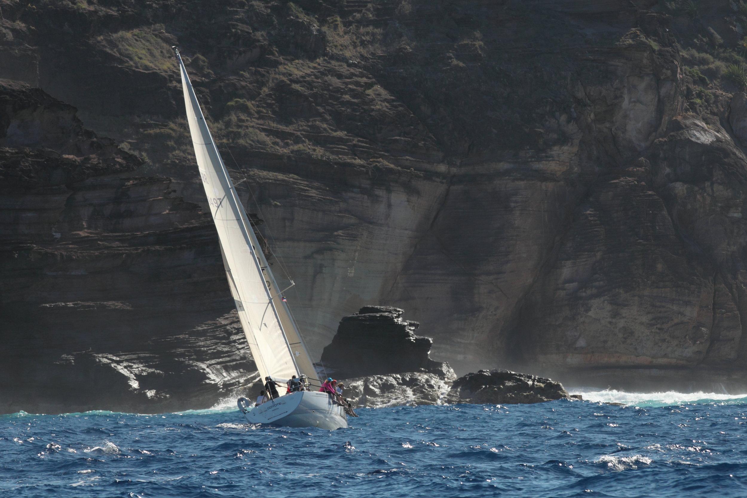 Sailing around Antigua, 2013 -