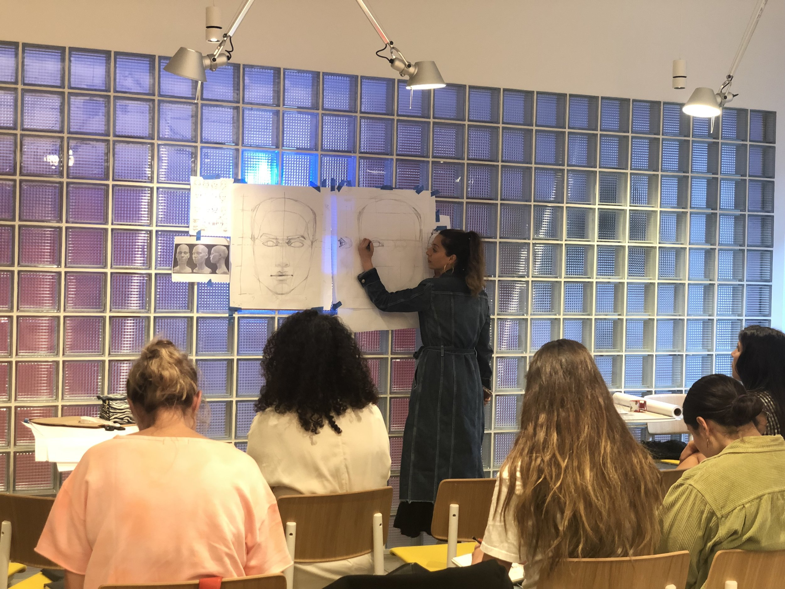 WeWork seminar - Face drawing basics