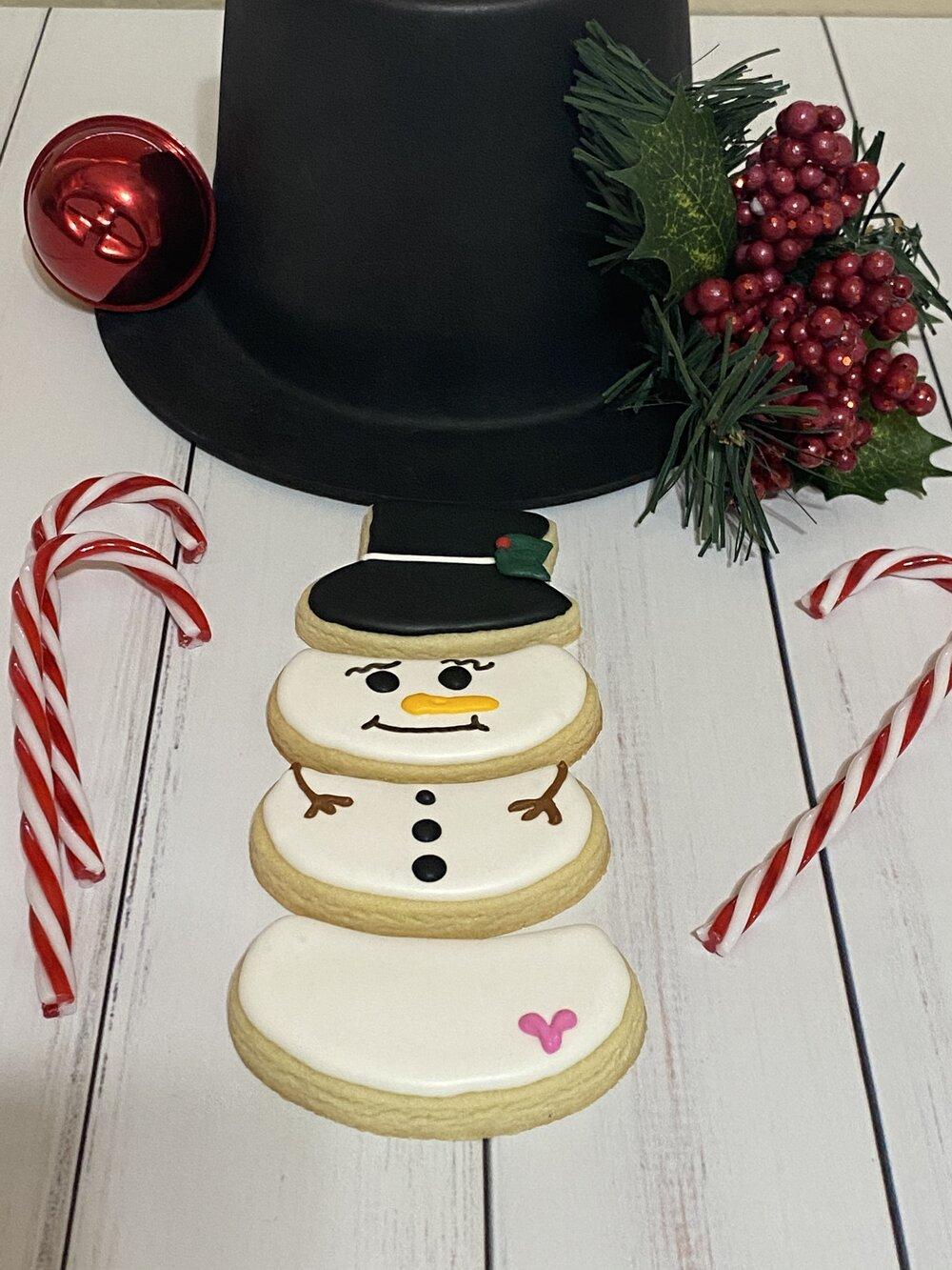 Snowman Cookie Cutter 4/'/'