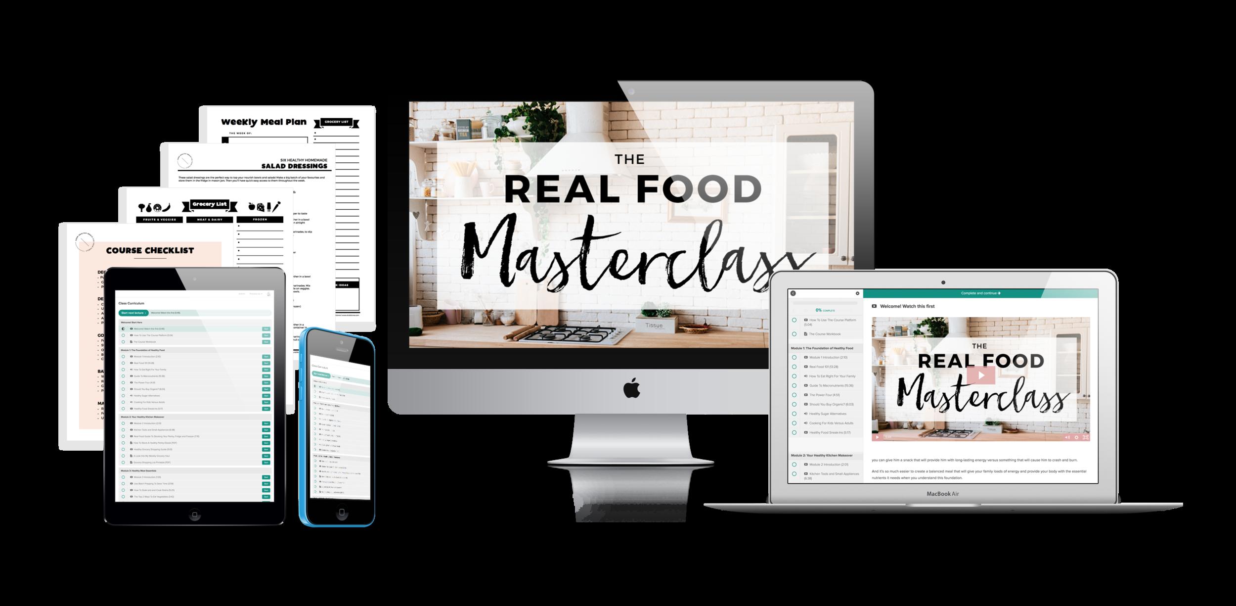 Real Food Masterclass