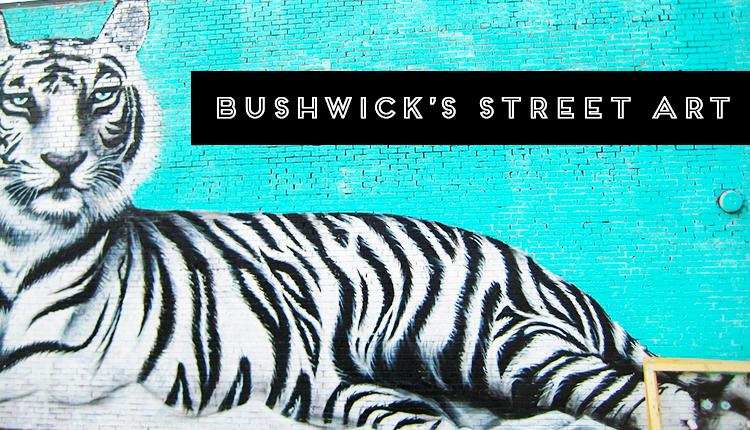 Kremen's tiger street art from the streets of Bushwick, Brooklyn in New York City