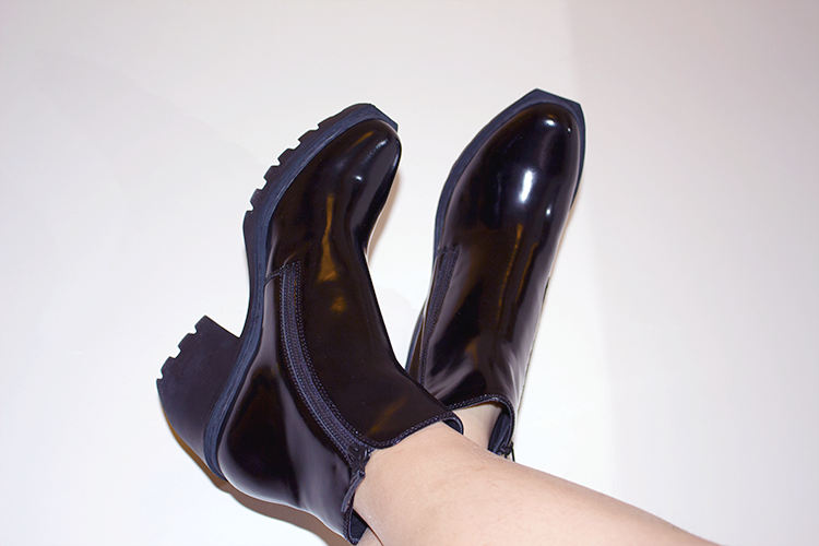 Birthday splurge with Opening Ceremony's Grunge Double Zip Boots.